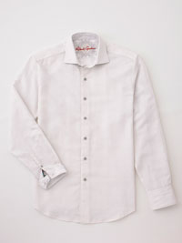 EGG SHELL Sport Shirt by Robert Graham