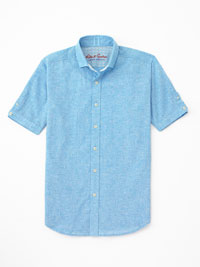 TEAL Sport Shirt by Robert Graham