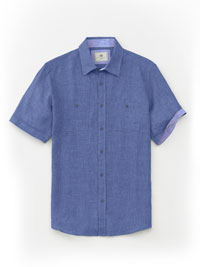 ROYAL Short Sleeve Sport Shirts by Report