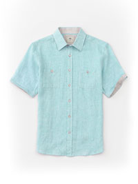AQUA Short Sleeve Sport Shirts by Report