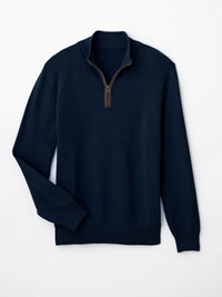 NAVY Sweater by Tom James