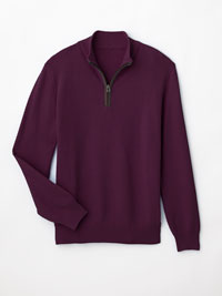 BURGUNDY Sweater by Tom James