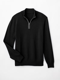 BLACK Sweater by Tom James