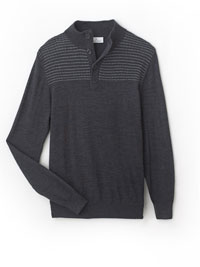GRAY Sweater by Tom James