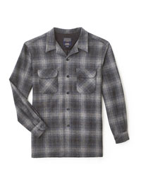 CHARCOAL Shirt Jacket by Pendleton