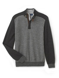 CHARCOAL Sweater by Tom James