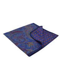 Square-Royal Paisley/Neat