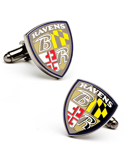 NFL Baltimore Ravens Cufflinks