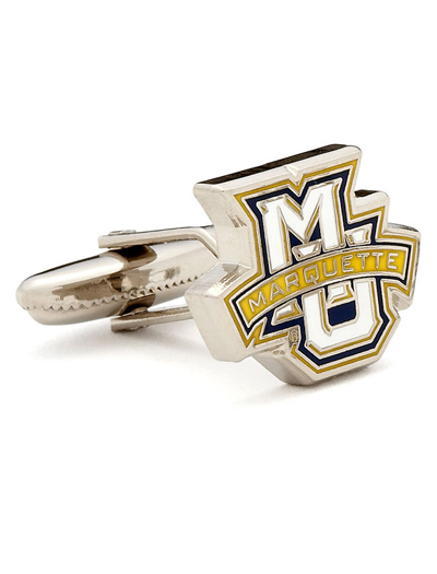 NCAA MARQUETTE GOLDEN EAGLE CUFFLINKS