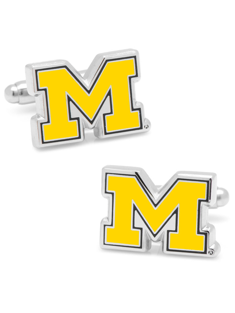 NCAA University of Michigan Wolverines Cufflinks