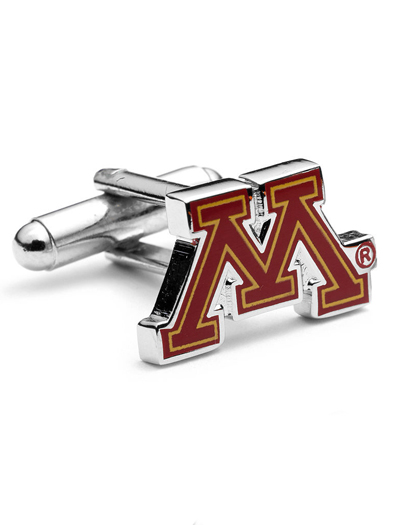 NCAA Minnesota Golden Gopher Cufflinks