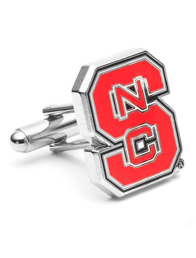 NCAA North Carolina State Wolfpack Cufflinks