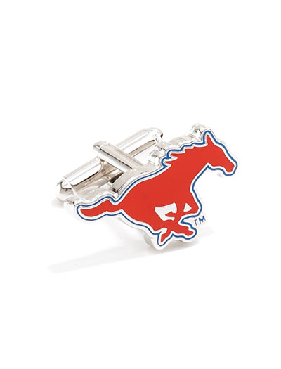 NCAA SMU Mustangs Cufflinks