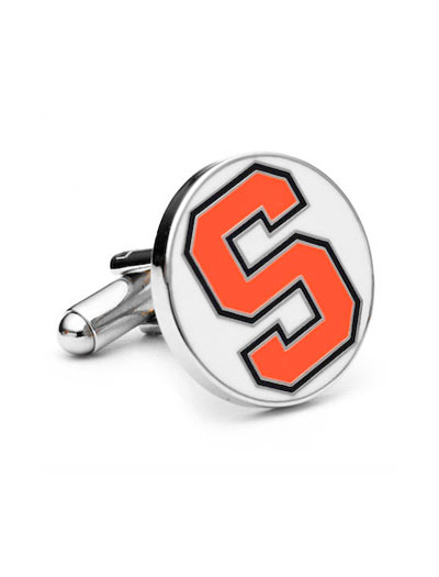 NCAA Syracuse University Orangemen Cufflinks