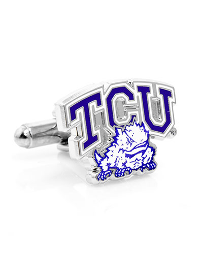 NCAA TCU Horned Frog Cufflinks
