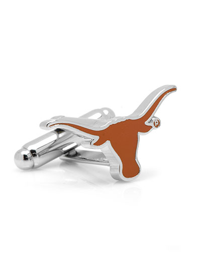 NCAA University of Texas Longhorn Cufflink