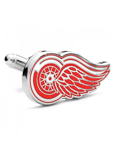 NHL Detroit Red Wings Cufflinks