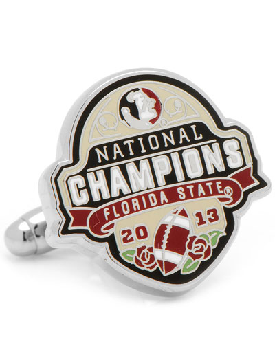 NCAA Florida State National Championship Cufflinks