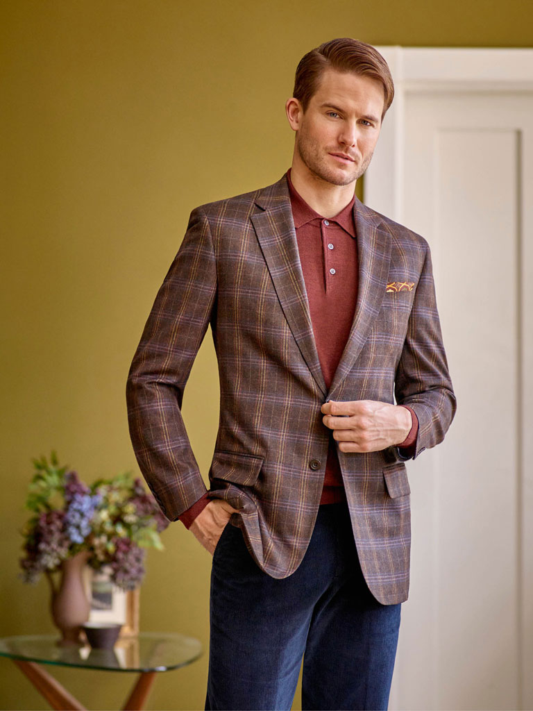 Sportcoat- Brown Plaid
