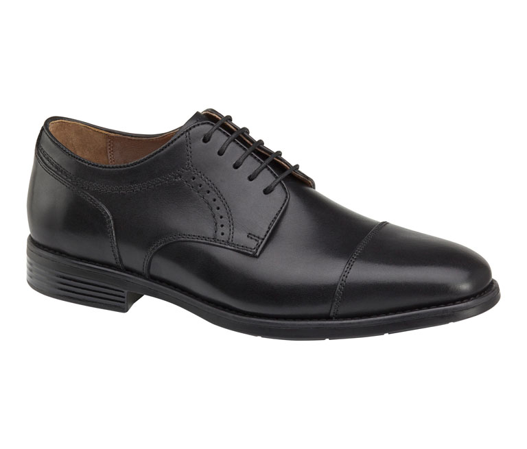 Branning Cap Toe Black Waterproof Full Grain