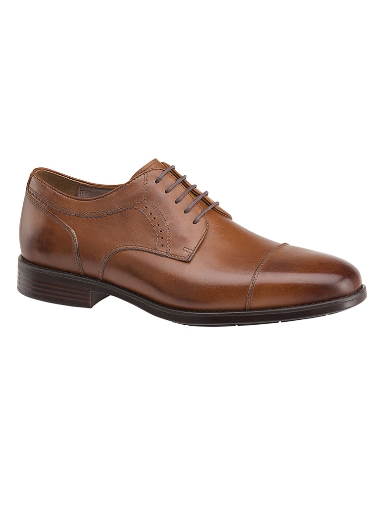 Branning Cap Toe Tan Waterproof Full Grain