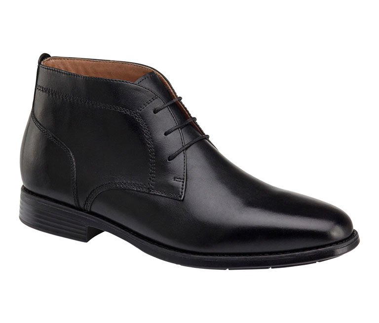 Branning Chukka Black Waterproof Full Grain