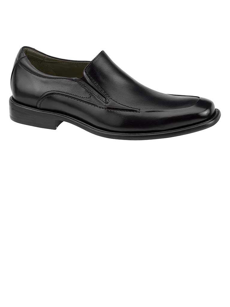 Tilden Slip-On Black Smooth Calfskin
