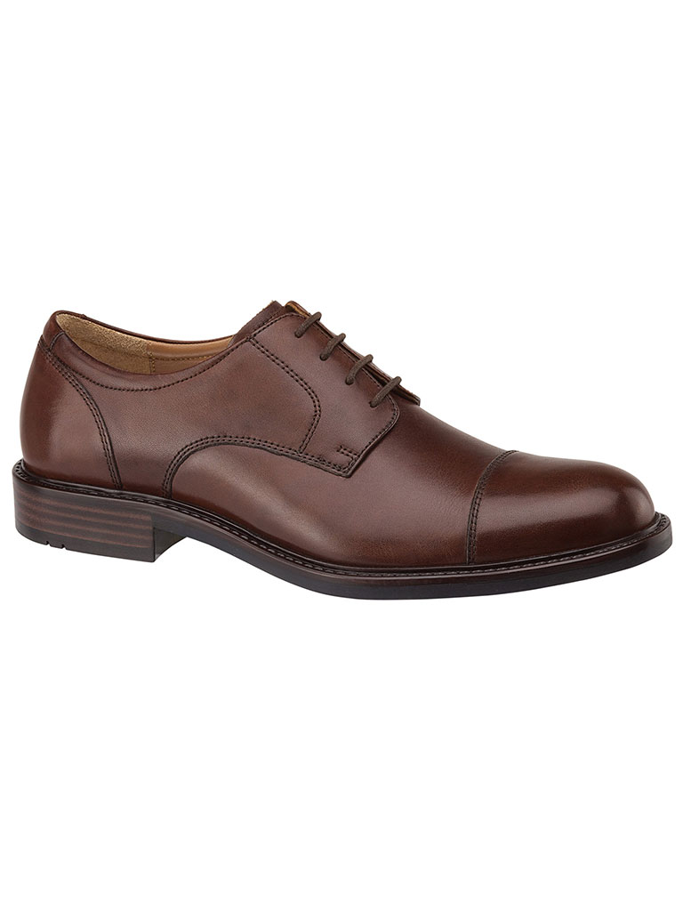 Tabor Cap Toe Brown Calfskin