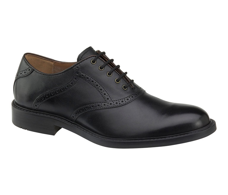 Tabor Saddle Black Calfskin