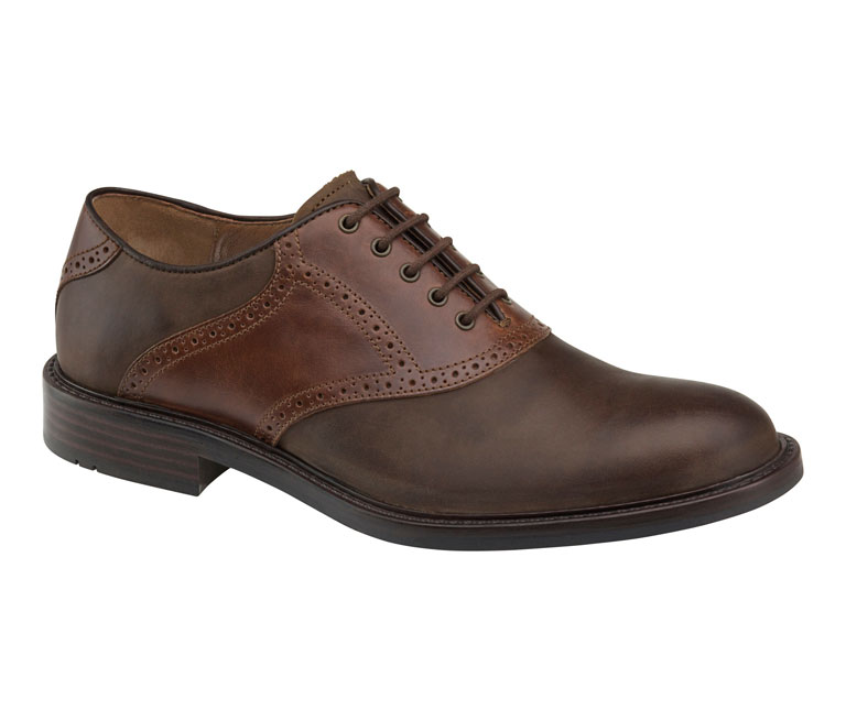 Tabor Saddle Brown Oiled Nubuck & Mahogany Pull-Up
