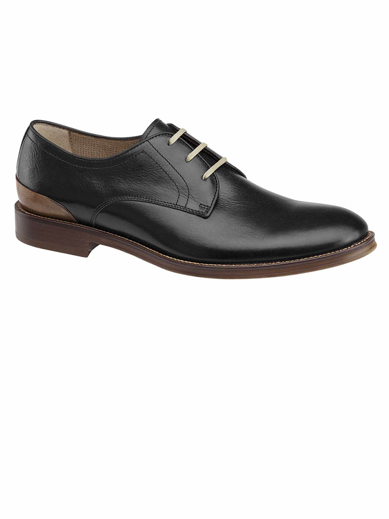 GRAYSON PLAIN TOE Black Calfskin