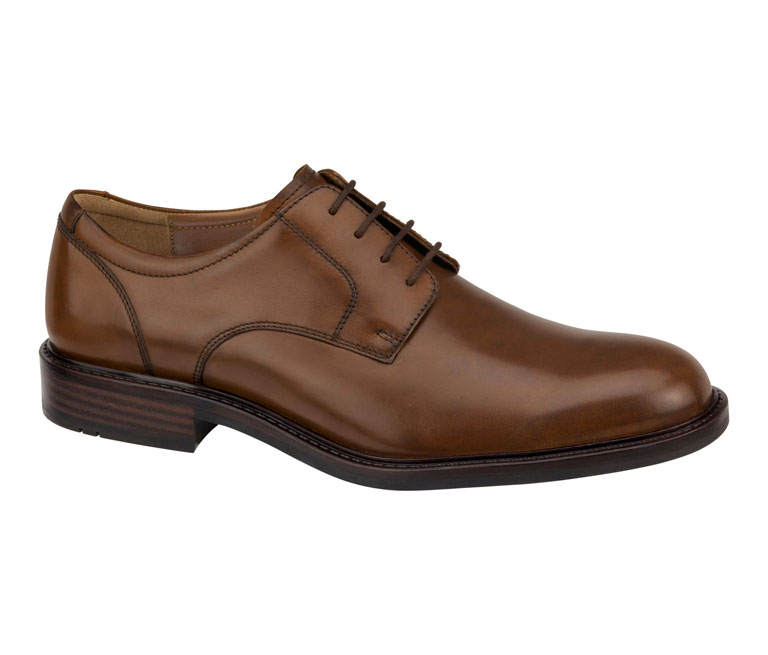 Tabor Plain Toe Tan Calfskin