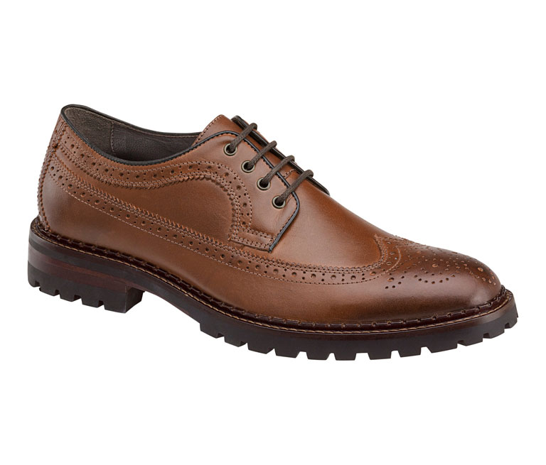 Jennings Wingtip Tan Calfskin