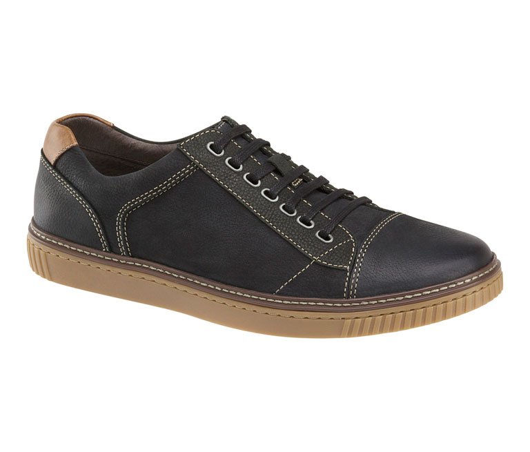 Wallace Lace-To-Toe Black Oiled Nubuck