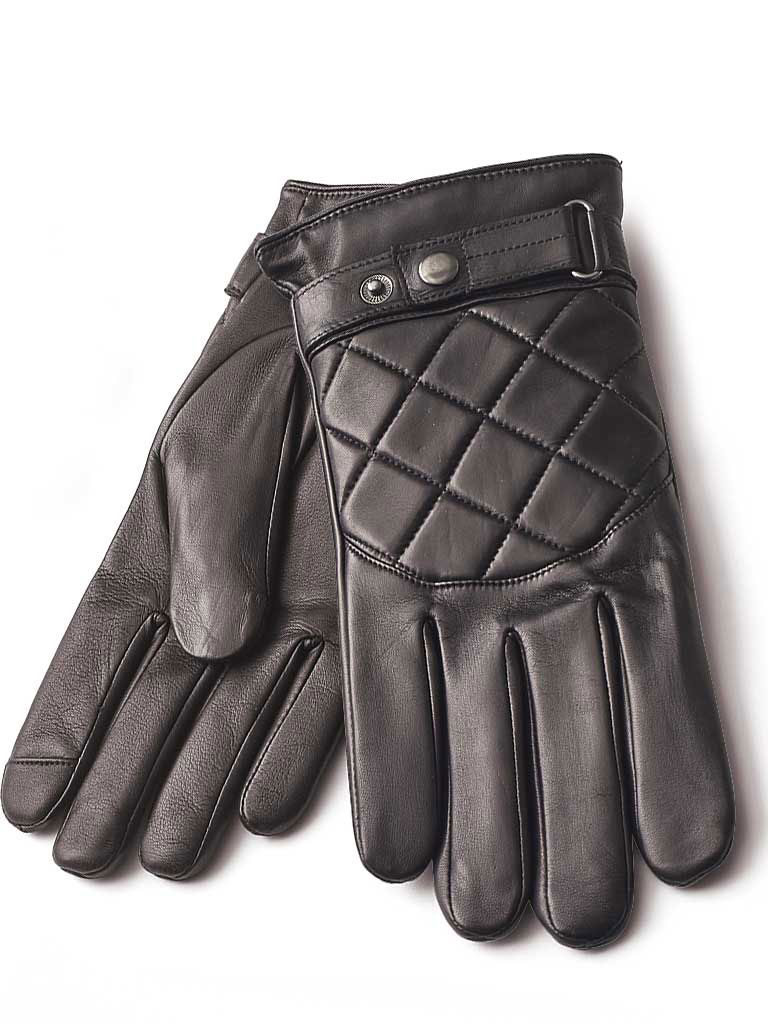 Leather Quilted Gloves