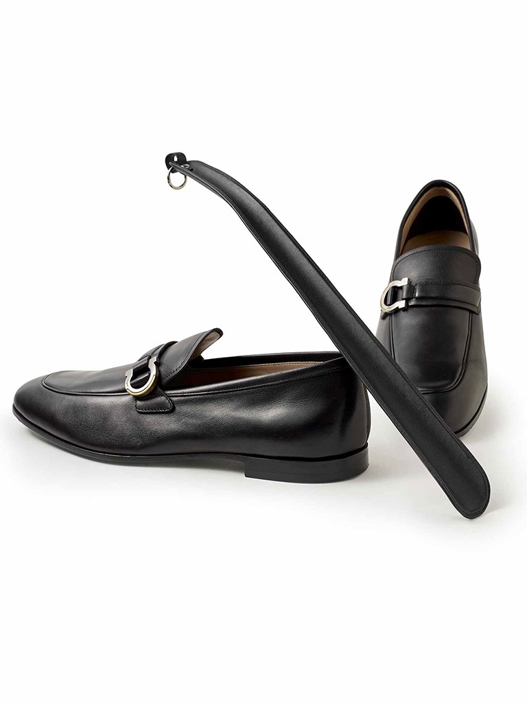 LEATHER SHOE HORN