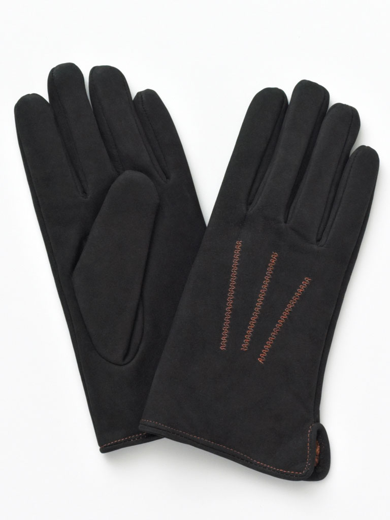 Gloves with Orange Trim By Tom James