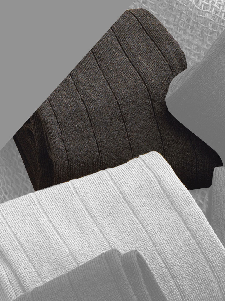 Bespoke Cotton Solid Socks