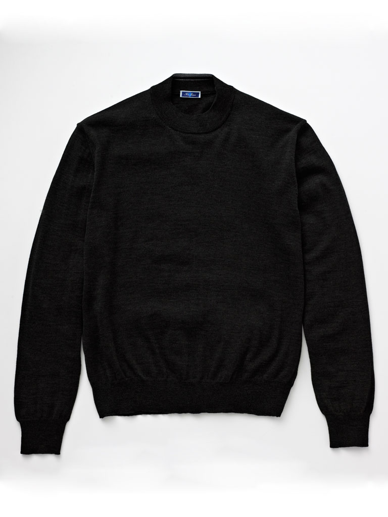 Mock Neck Knit by Tom James
