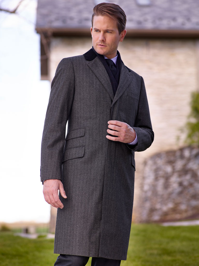 Chesterfield Overcoat by Tom James