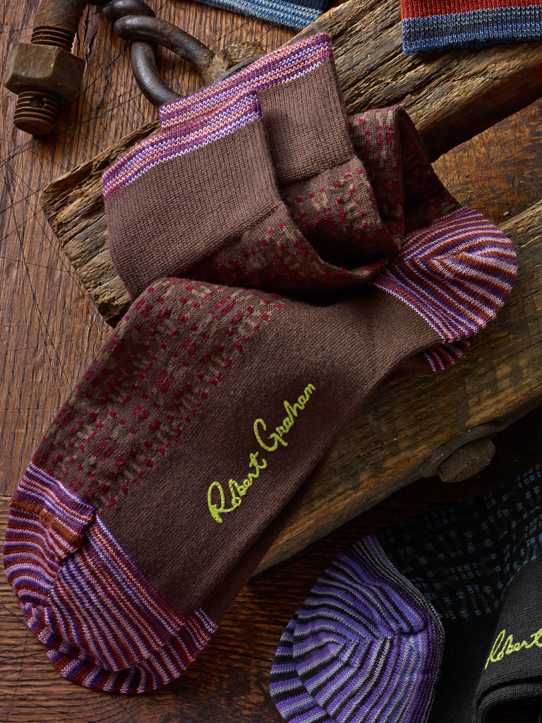 Signature Socks by Robert Graham
