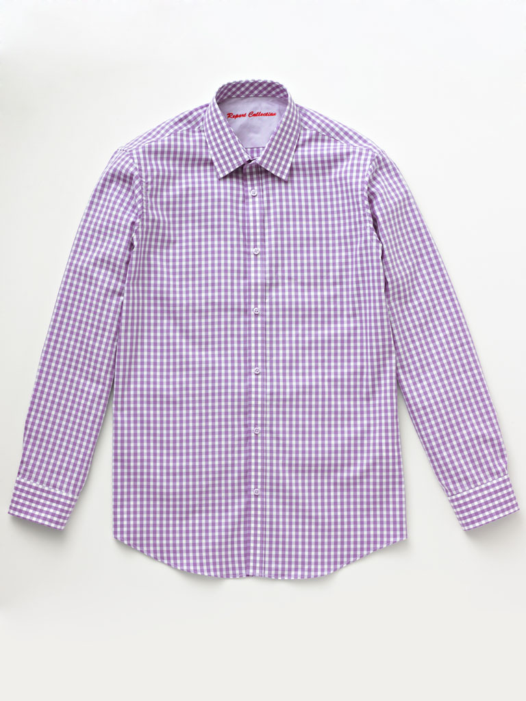 Easy Care Gigham Shirt By Report