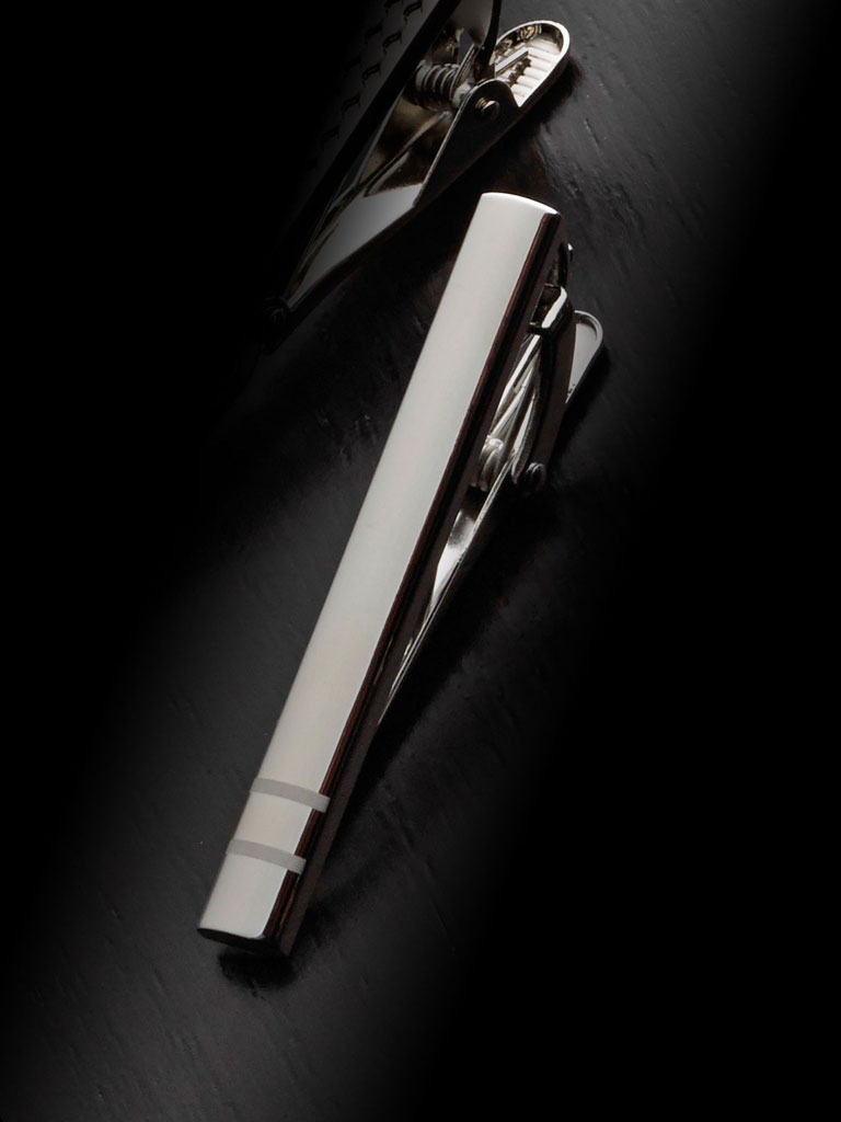Double Lined Tie Bar By Tom James