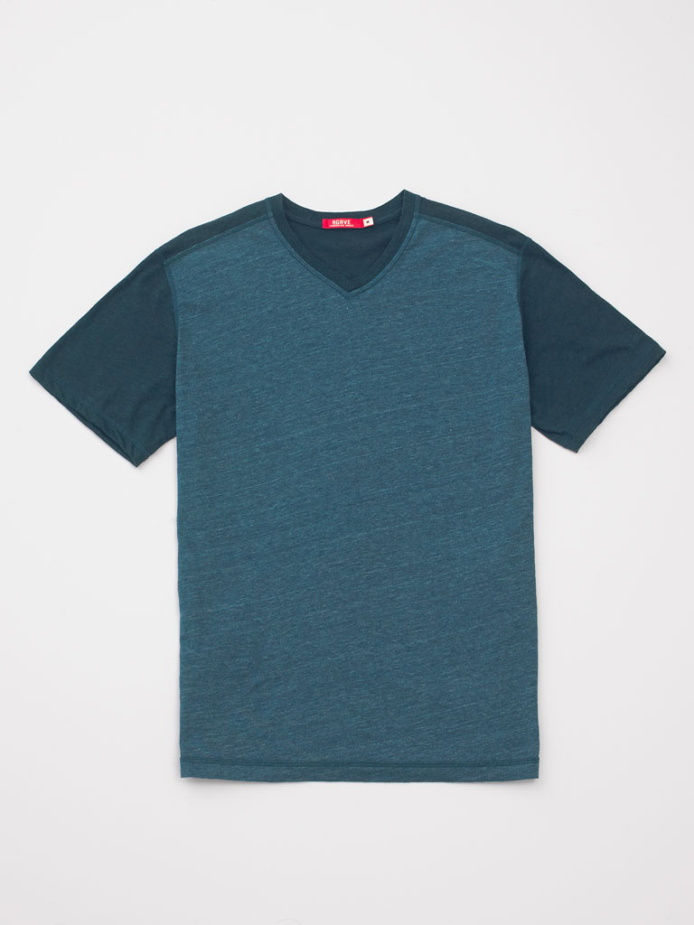 Contrasted Sleeve Tee by Jake Agave
