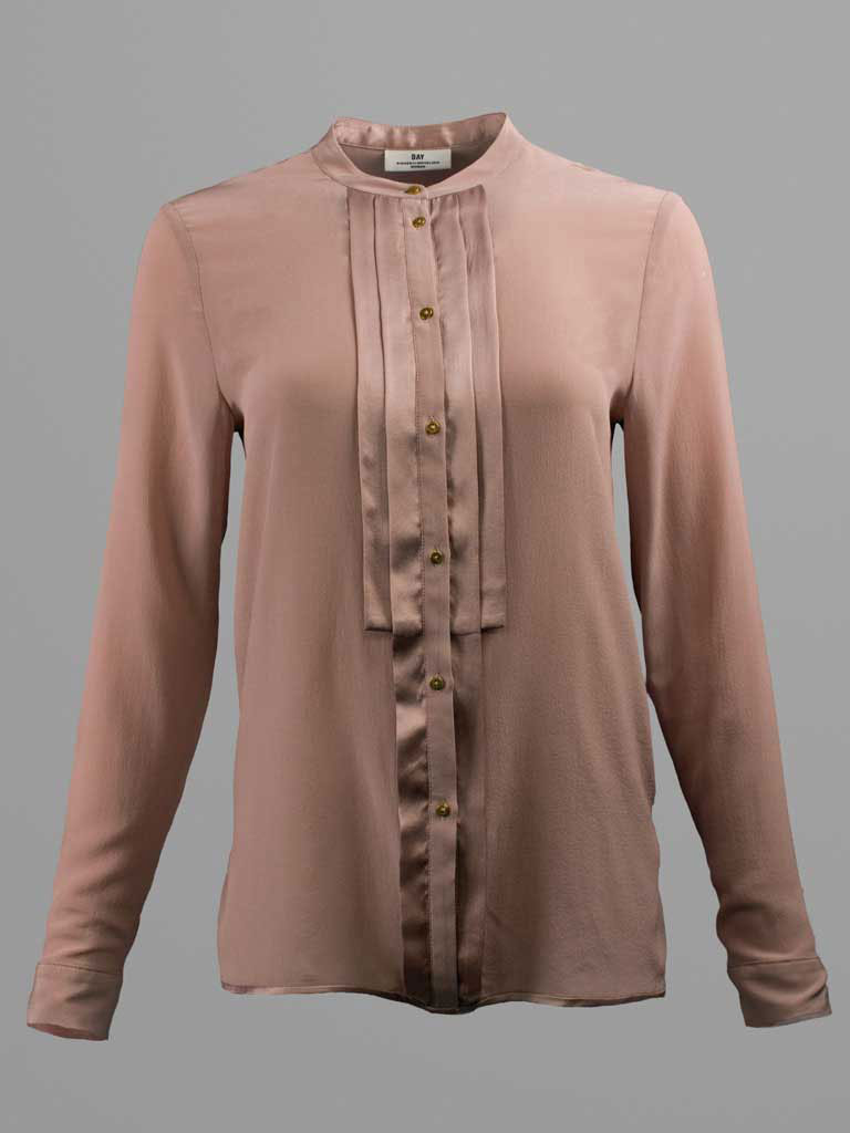 Pleated Front Blouse by Day Birger