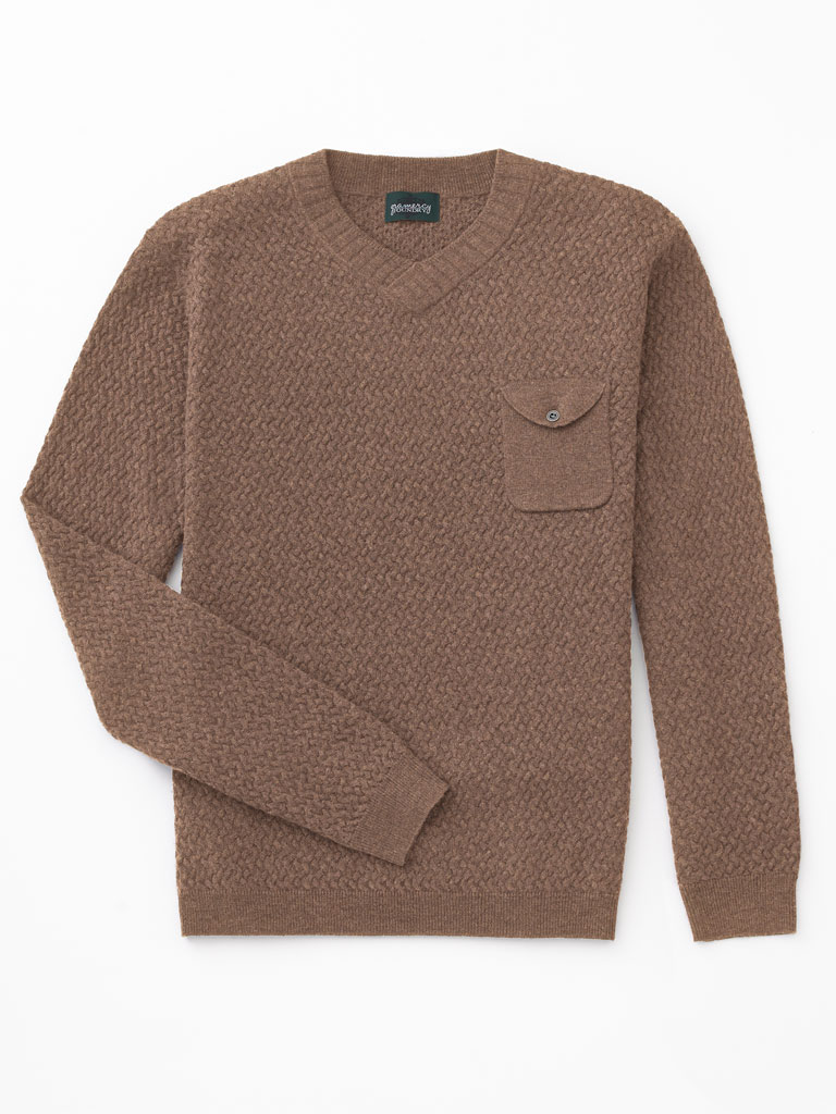 V-Neck Sweater by Tom James