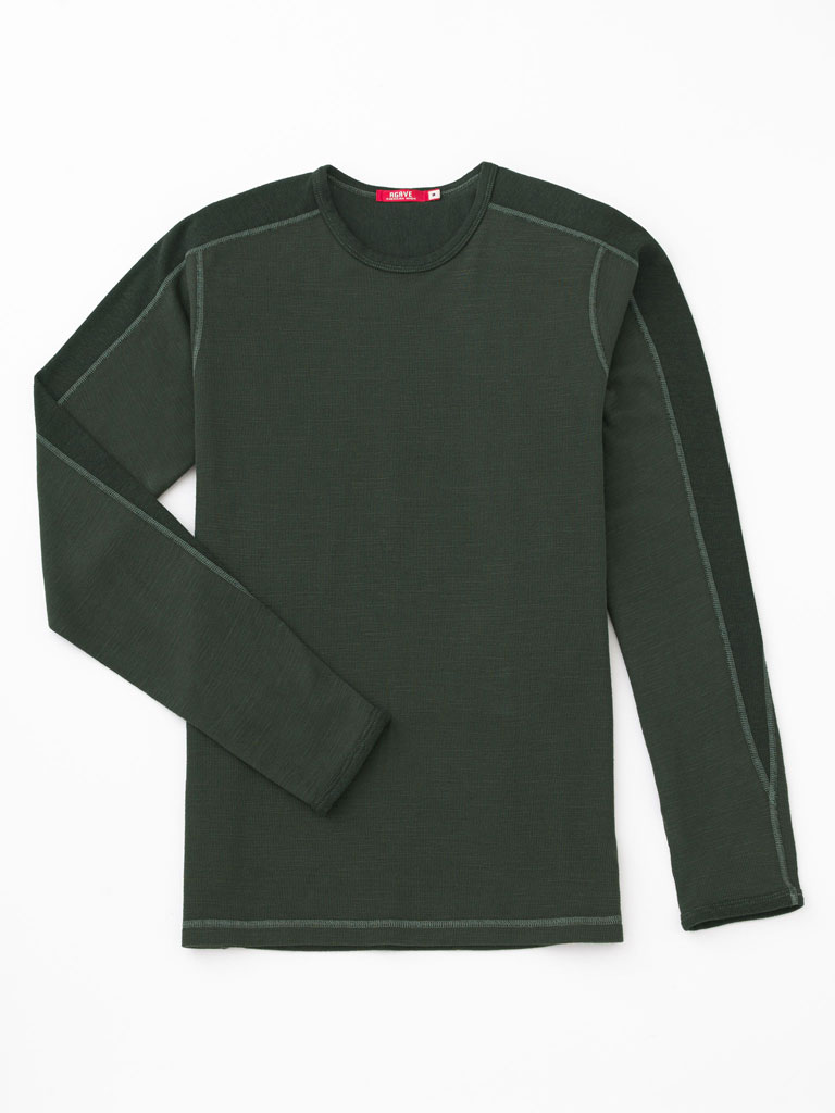 Crew Neck Long Sleeve Knit by Agave