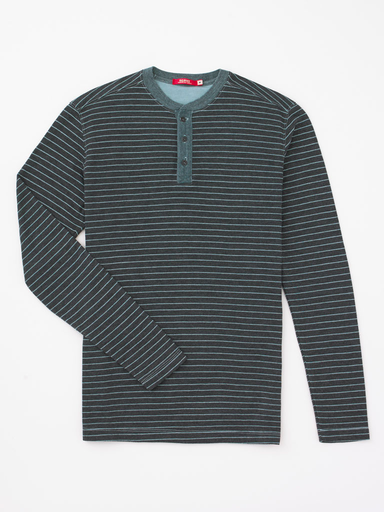 Long Sleeve Henley by Agave