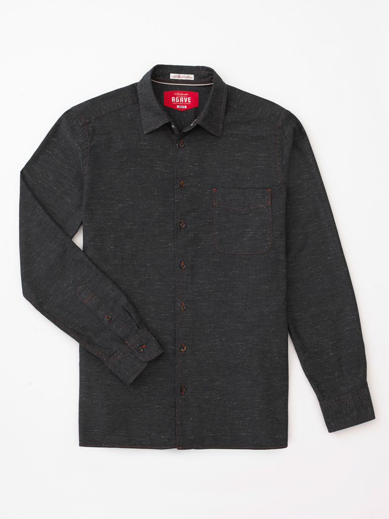 Enzyme Washed Sport Shirt by Agave