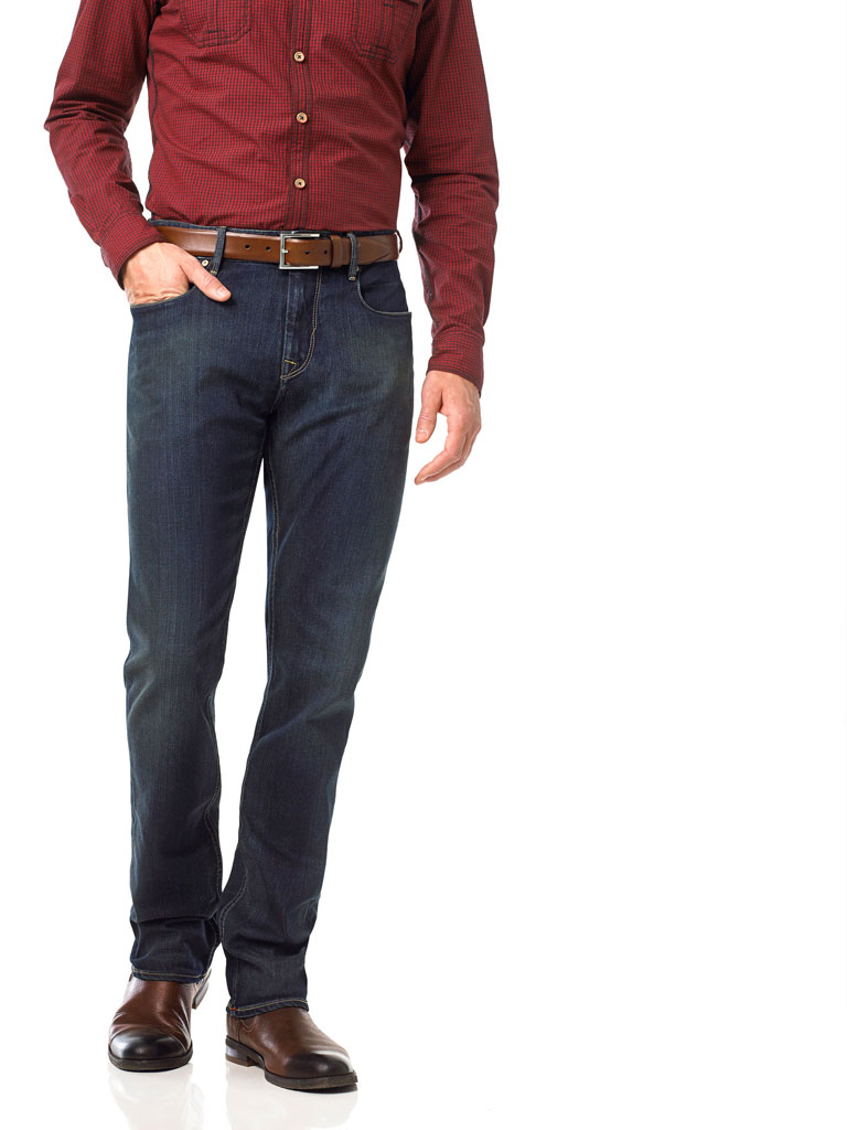 Shaded Stretch Denim by Robert Graham
